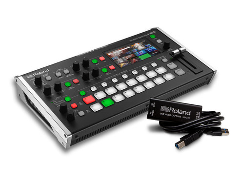 Roland V-8HD Video Switcher & UVC-01 Streaming encoder