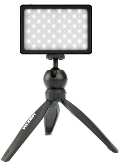 Rizer Mobile Mini Tripod (X3) and LED Light (X3) Bundle