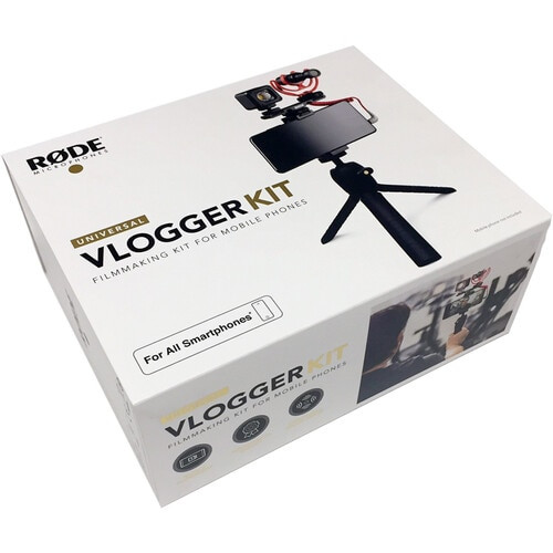 Rode Vlogger Kit Universal Filmmaking Kit for Smartphones