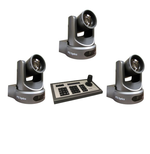 PTZOptics 12x-SDI Gen2 Camera Kit with Controller