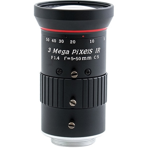 AIDA Imaging 5-50mm f/1.4 Varifocal Lens (CS Mount)