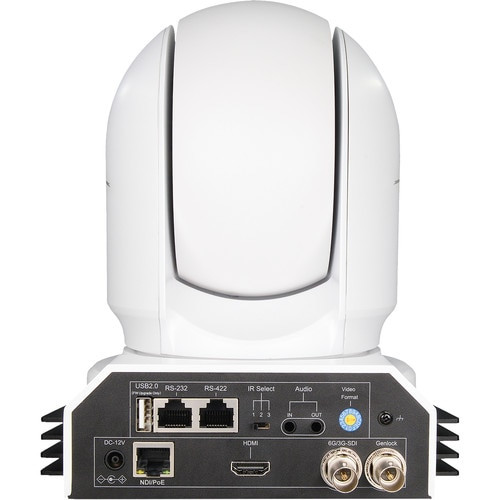 BirdDog EYES P400 4K 10-Bit Full NDI PTZ Camera (White)