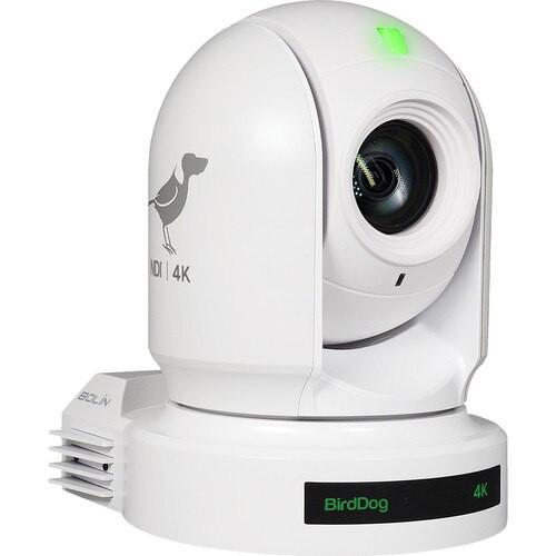 BirdDog EYES P400 4K 10-Bit Full NDI PTZ Camera (White)