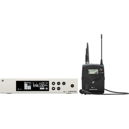 Sennheiser EW 100 G4-ME2 Wireless Omni Lavalier Microphone System