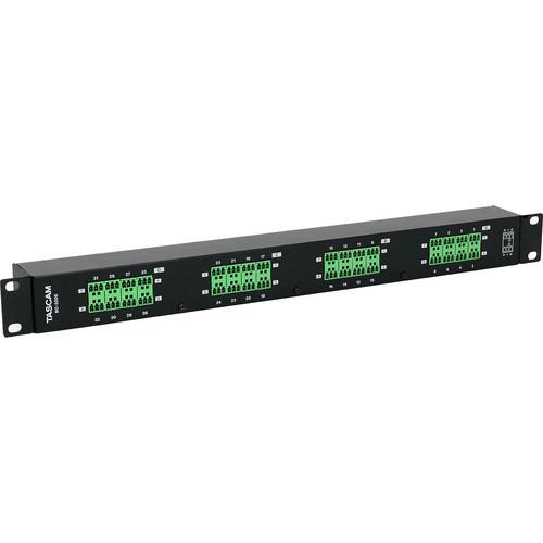 Tascam BO-32DE Rackmount 32-Channel DB25 to Euroblock