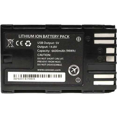Core SWX NANO-C98 14.8V Battery with D-Tap for Camcorders
