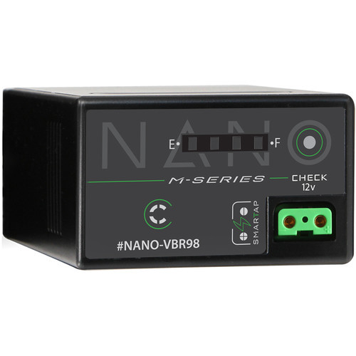 Core SWX Nano-VBR98 7.4V Battery with D-Tap for Camcorders