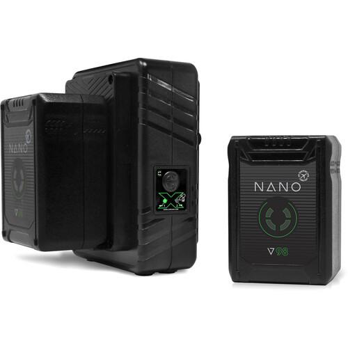 Core SWX NANO Micro 98Wh Li-Ion 2-Battery Kit (V-Mount)
