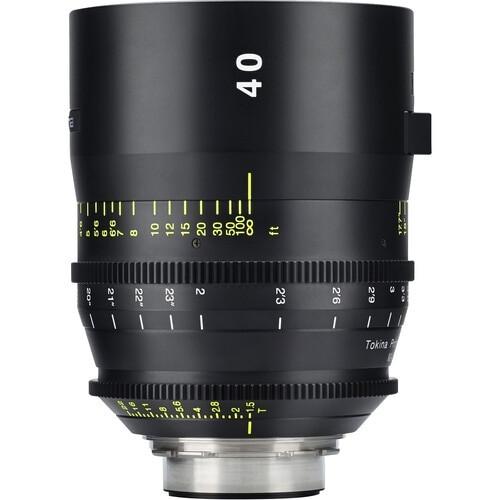 Tokina TO-KPC-3008EF Cinema Vista 40mm T1.5 EF Mount Lens