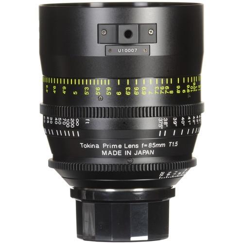Tokina TO-KPC-3003EF Cinema Vista 85mm T1.5 EF Mount Lens