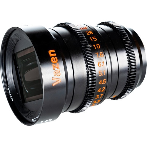 Vazen 28mm T2.2 1.8x Anamorphic Lens for MFT Mount