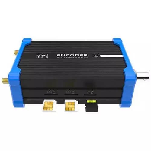 Kiloview Kv-p2 Battery powered camera mounted wireless HDMI to NDI Hx encoder