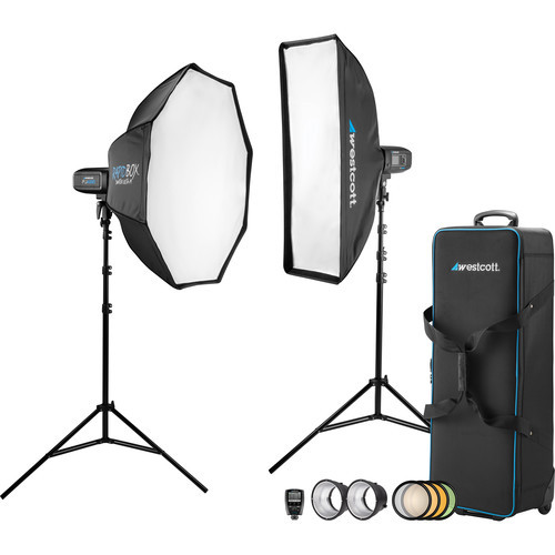 Westcott 2-Light Location Kit & FJ-X2m Wireless Trigger