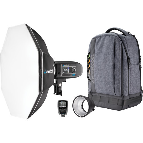 Westcott FJ400 400Ws Strobe & Battery 1-Light Backpack Kit