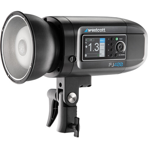 Westcott FJ80 and FJ400 Strobe 2-Light Portable Portrait Kit
