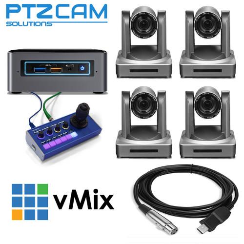 PTZCam CamKit4 NDI Deluxe