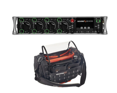 Sound Devices 888 Production Mixer-Recorder with Carry Bag