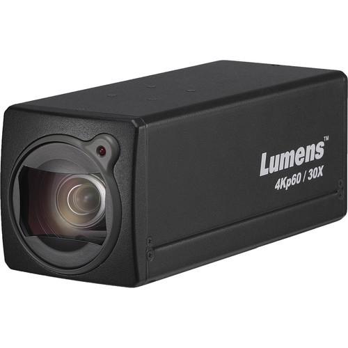 Lumens 4K Box Cam 30X Opticial Zoom (Black)