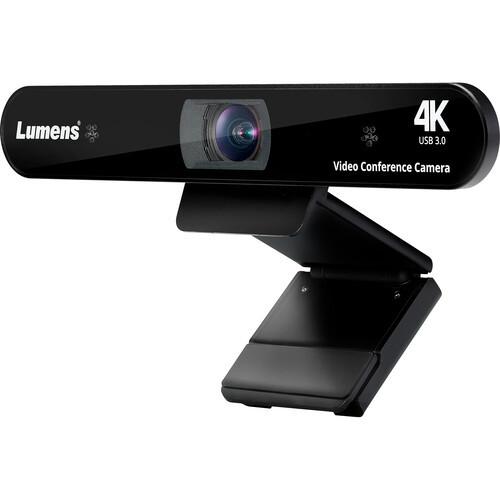 Lumens 4K USB Auto Framing Video Conference Webcam