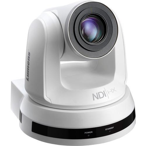 Lumens VC-A50PN W IP PTZ Camera with NDI (White)
