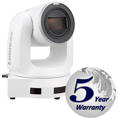 Lumens VC-A71PW 4K 60fps IP PTZ Camera (White)