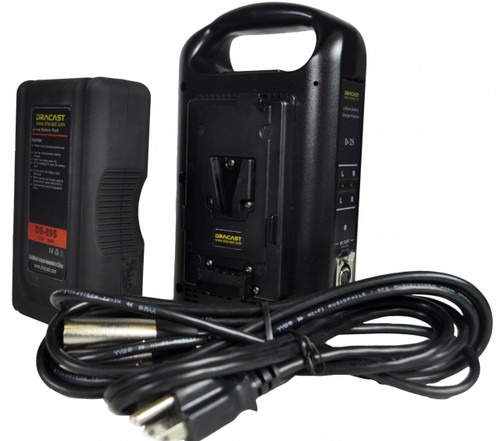 Dracast DDL-089S V Mount Battery and Charger Kit by Dracast