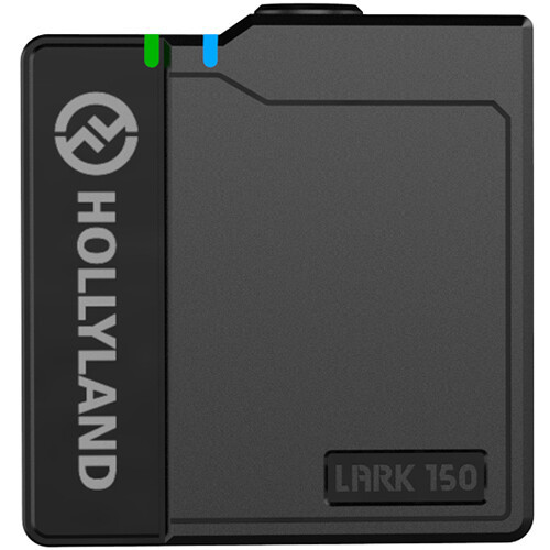 Hollyland LARK 150 Clip-on Wireless Microphone Transmitter (Black)