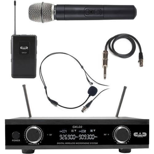 CAD GXLD2HBAI Large Diaphragm Cardioid Condenser Side Address Microphone
