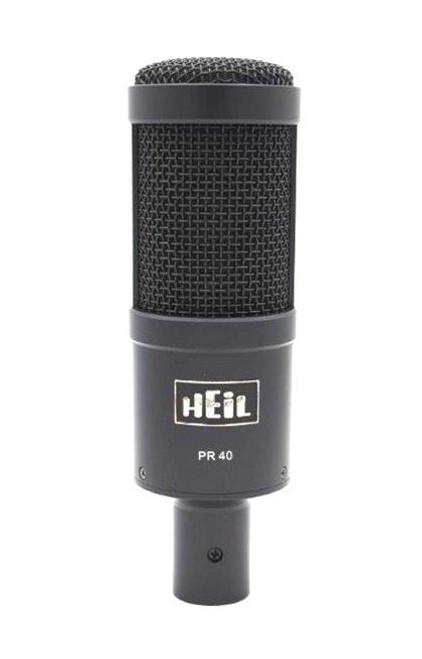 Heil Sound PR40B Dynamic Cardioid Microphone (Black)