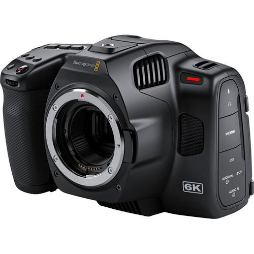 Blackmagic Design Pocket Cinema Camera 6K Pro with SmallRig Cage