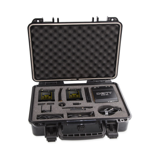 Deity Microphones Connect Deluxe Kit 2-Person Wireless Omni Lavalier Microphone System (2.4 GHz)