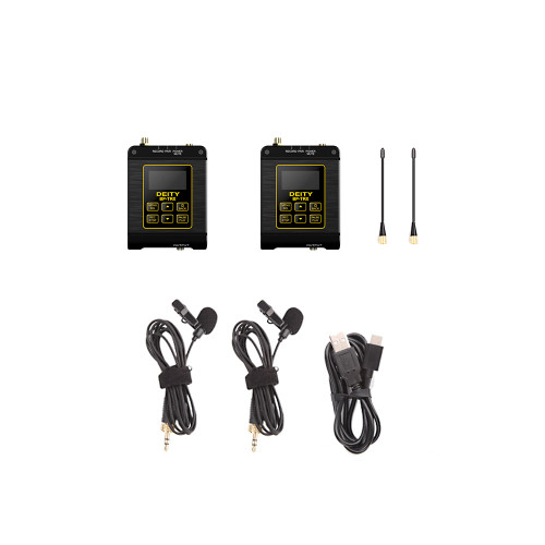 Deity Microphones Connect Timecode Kit Camera-Mount Wireless Omni Lavalier Microphone System