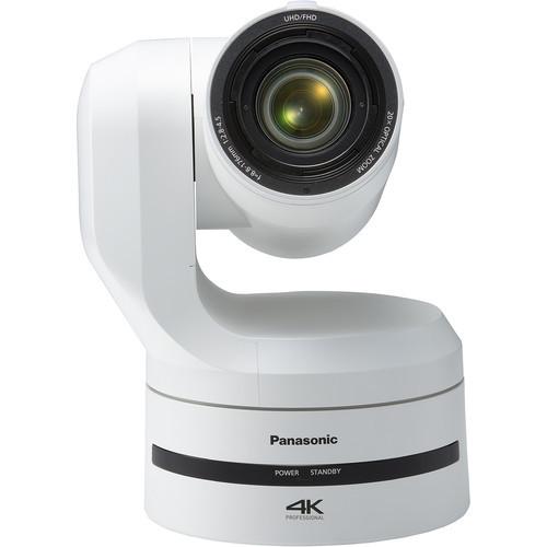 Panasonic AW-UE150W UHD 4K 20x PTZ Camera (White)
