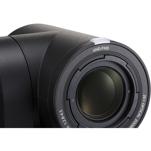 Panasonic AW-UE150K UHD 4K 20x PTZ Camera (Black)