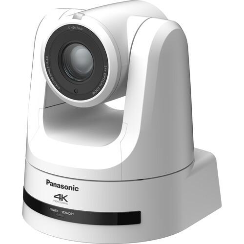 Panasonic 4K NDI Pro 12G-SDI/HDMI PTZ Camera (White)