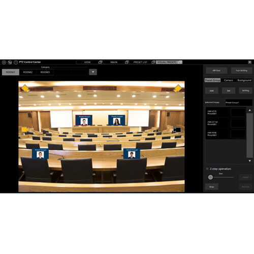 Panasonic Visual Presets for Mult-PTZ Cameras Software Key