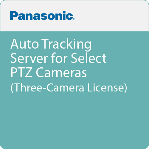 Panasonic Auto Tracking Server for PTZ Cameras Three Lic.