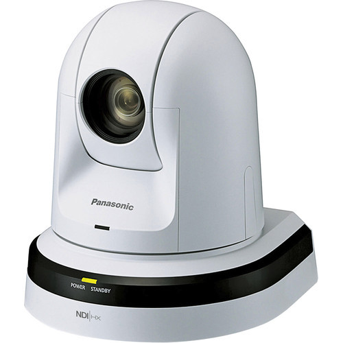 Panasonic 22x Zoom PTZ Camera with HDMI and NDI (White)