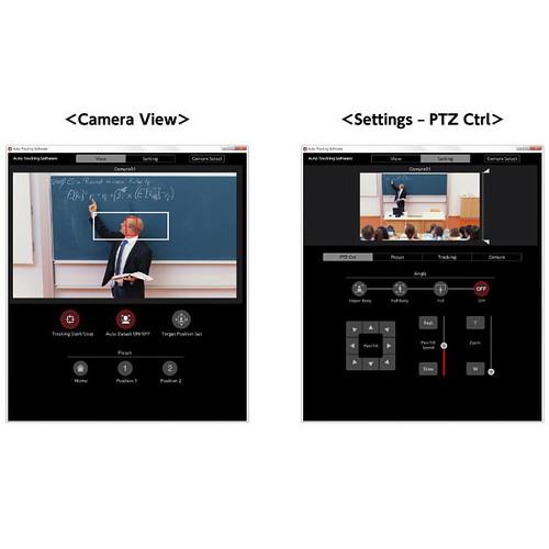 Panasonic AW-SF100G Auto Tracking PTZ Software Key