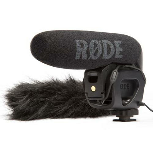 RODE VideoMic Pro with DeadCat Windshield