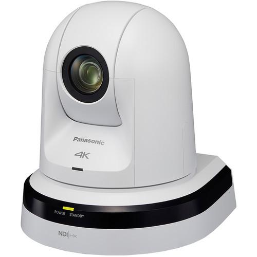 Panasonic 20x Zoom 4K PTZ Camera (White)