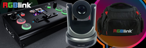 RGBlink mini+ with PTZOptics Camera and FREE RGBLink Bag