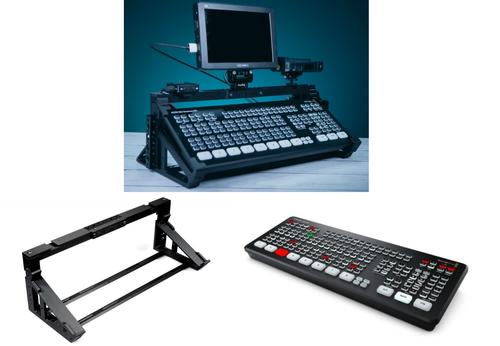 Blackmagic Design ATEM Mini Extreme Video Switcher with PK1 ATEM Mini Extreme/ ISO INUX3D Stand