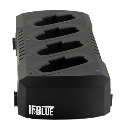 IF Blue Charging Station with Power Supply and AC Cord - USA