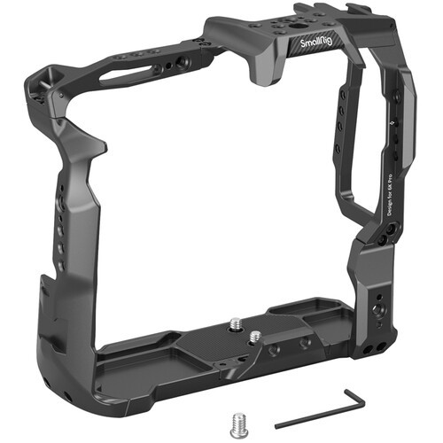 SmallRig Camera Cage for BMPCC 6K Pro with Battery Grip Attached