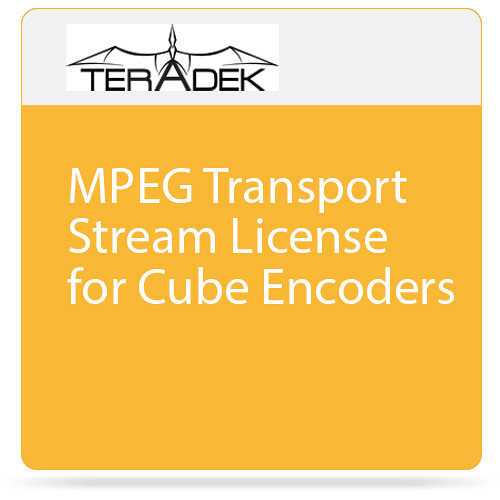 Teradek MPEG Transport Stream License for Cube Encoders