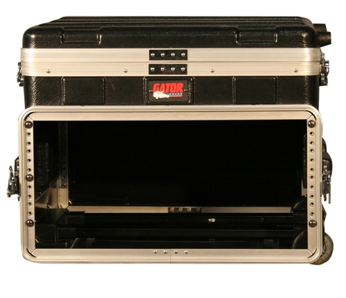 Gator GRC-STUDIO4GO-W 4U Rack with Laptop Space