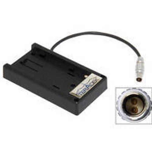 Teradek Cube Battery Adaptor Plate for JVC BN-V438U 7.2V Battery