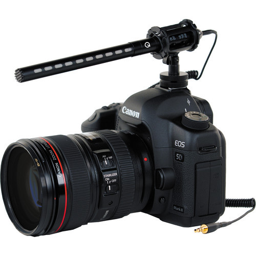 Que Audio DSLR-Video Pro Mic Kit - Mini Shotgun by Que Audio