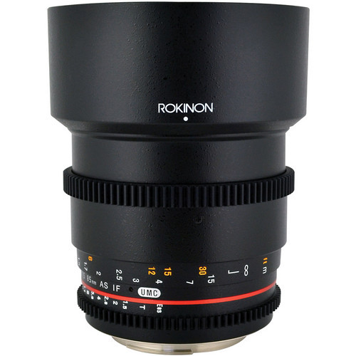 Rokinon 85mm T1.5 Cine Lens for Canon EF  by Rokinon